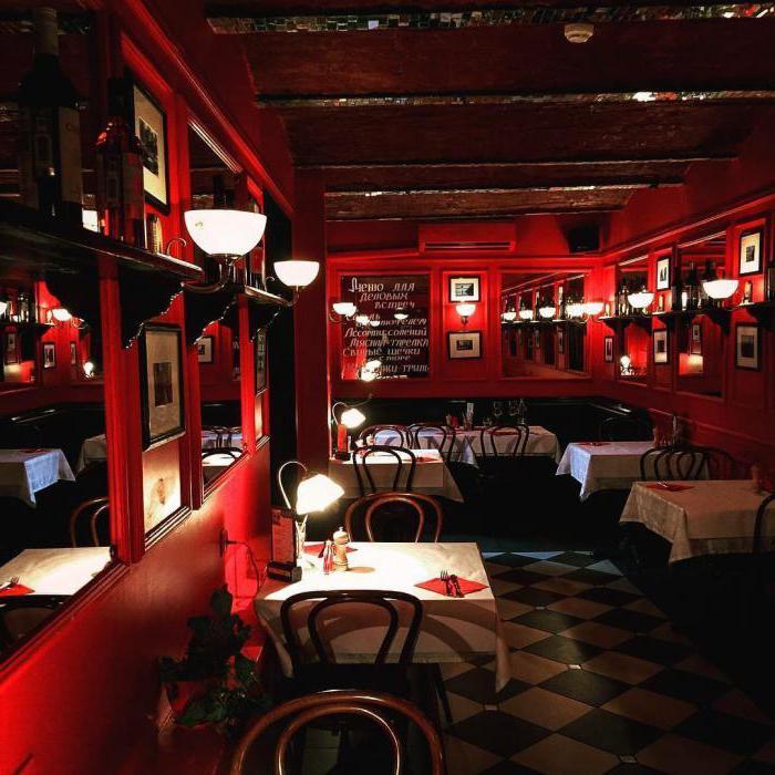 ristorante Jean-Jacques su Nikitsky Boulevard