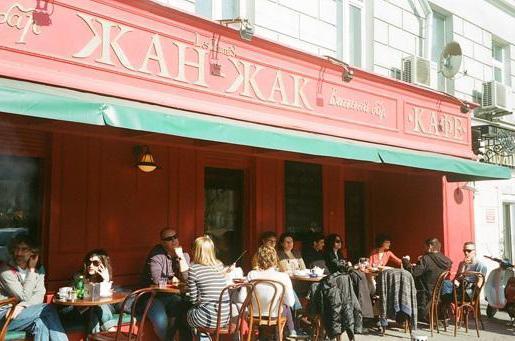 ristorante Jean Jacques a San Pietroburgo