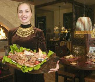 Il ristorante dell'Arca di Noè si trova a Mosca