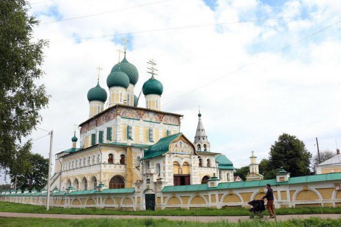 Orario della Tutaev Resurrection Cathedral