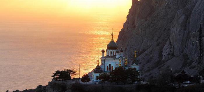 Cerkev vstajenja nad Foskim Krimom