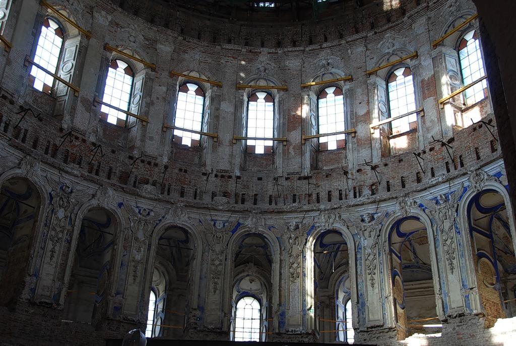 Notranjost katedrale za vstajenje