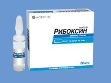 Injekcije ribboxina Indikacije za uporabu