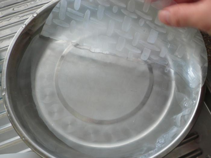 rotoli di carta di riso