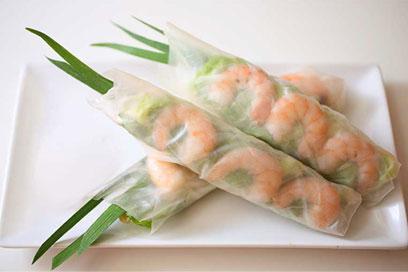 piatti di carta di riso