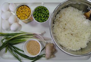 пиринач са рецептом за јаје