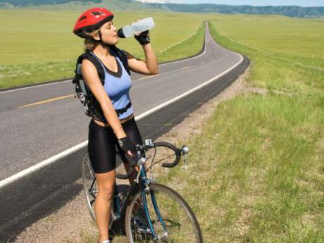 muscoli in bicicletta