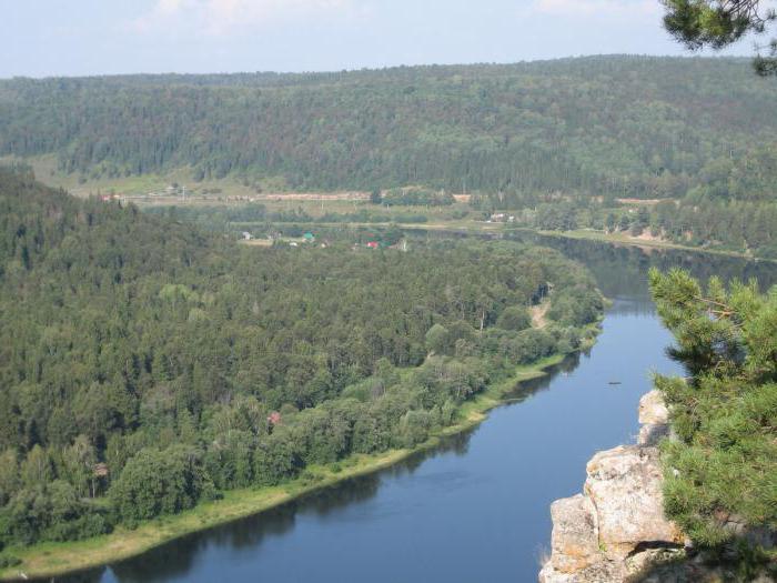 argine del fiume Ufa