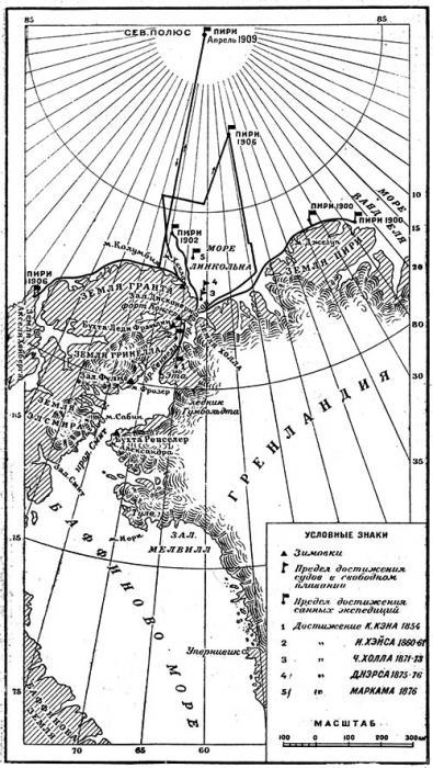 Robert Peary: Severni pol