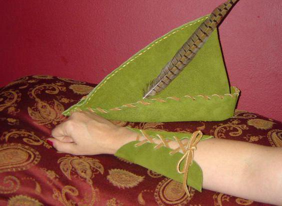 Robin Hood Costume per un ragazzo con le sue mani