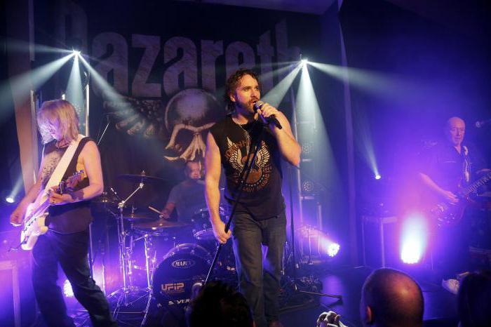 gruppo musicale Nazareth