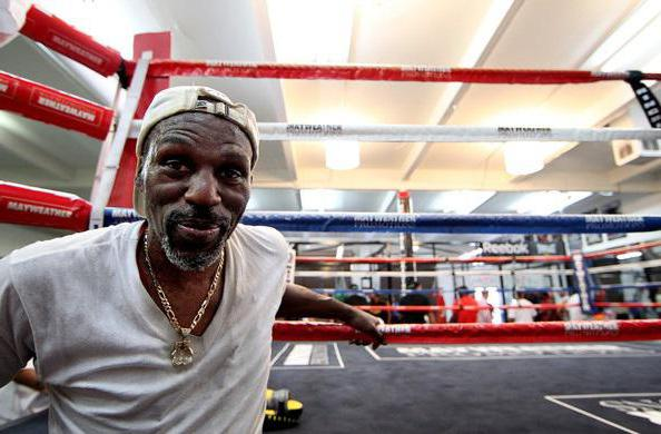 Boxer Roger Mayweather