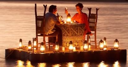 romantičen večer za dva