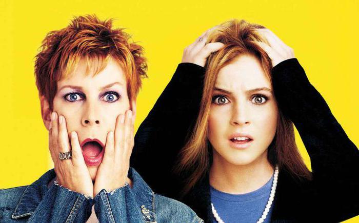 Freaky Friday Movie 2003