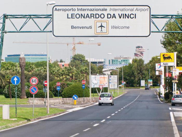 zračna luka u Rimu