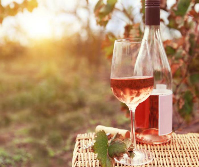 vino rosato Massandra