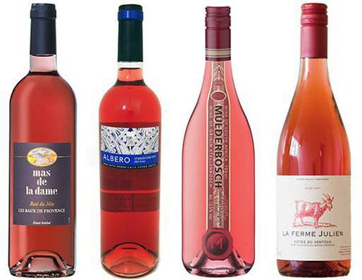 titoli di vino rosato
