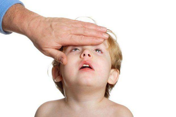 sintomi della roseola nei bambini