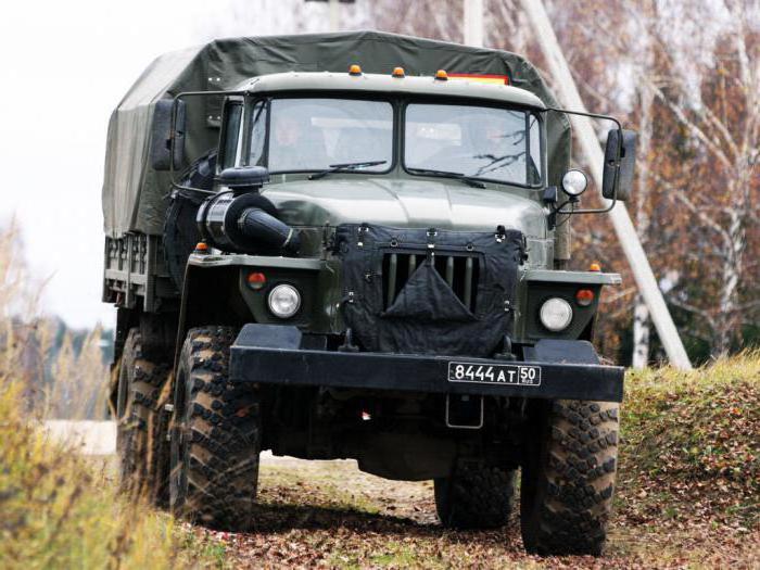Consumo di carburante Ural 43206