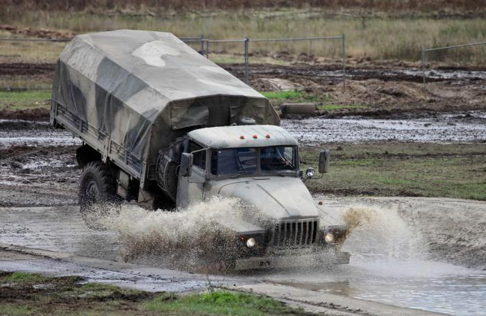 Урал 43206 ватрогасац
