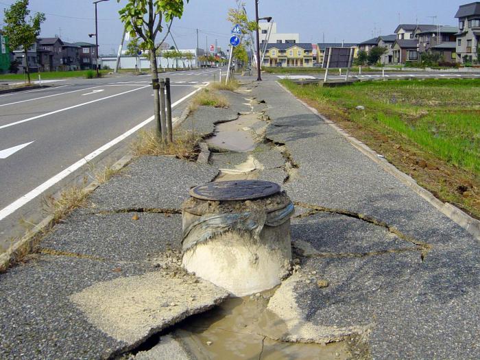 контролни списак земљотреса