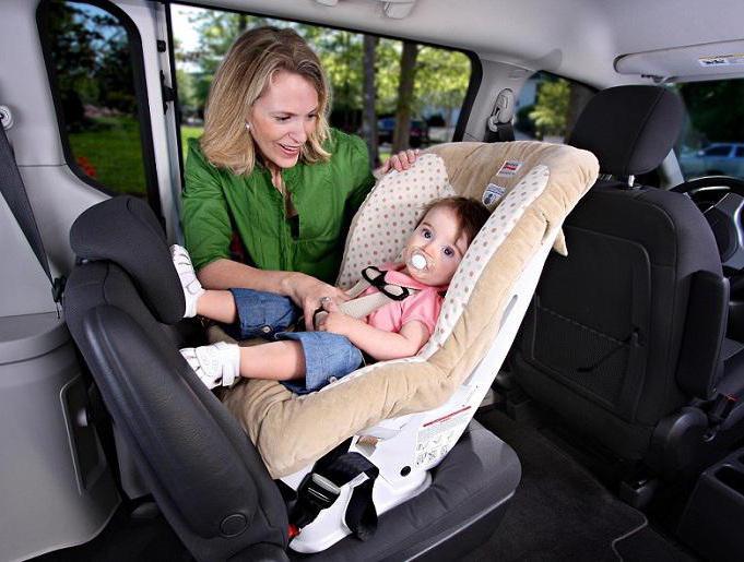 правила превоза новорођенчади у аутомобилу