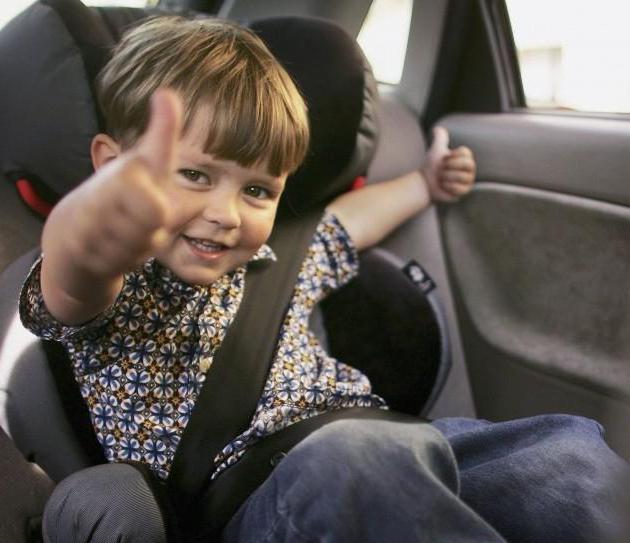 саобраћајни прописи превоз дјеце у аутомобилу