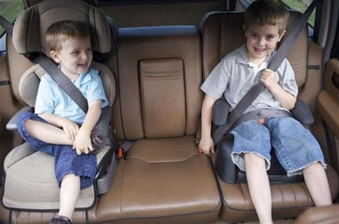 прописи о превозу дјеце на предњем сједалу аутомобила