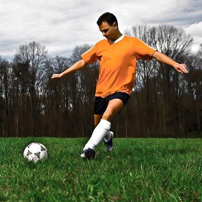 calciare a calcio