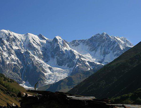 najvišja točka Rusije je gora z višino
