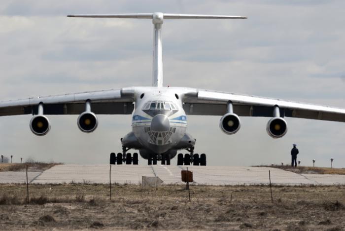 Rusko transportno letalo