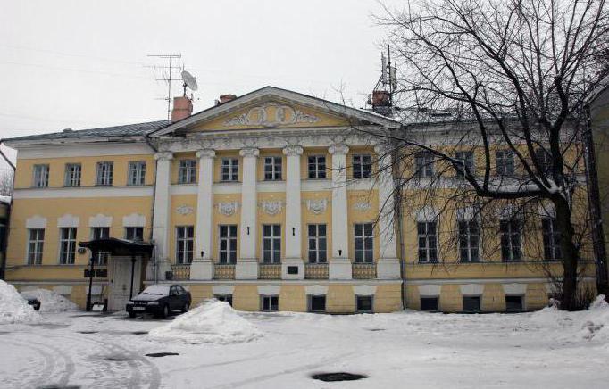 Architekt Bazhenov zbudowany