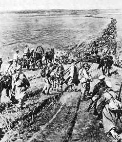 Ruski građanski rat uzrokuje
