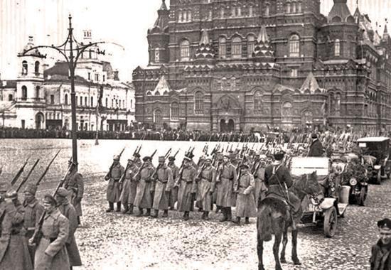 građanski rat 1917