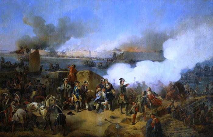 Guerre russe nel 18 ° secolo