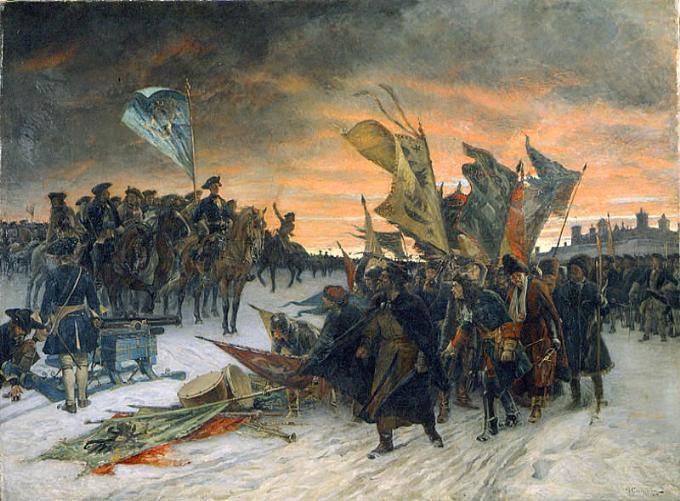 La Russia nel 18 ° secolo brevemente