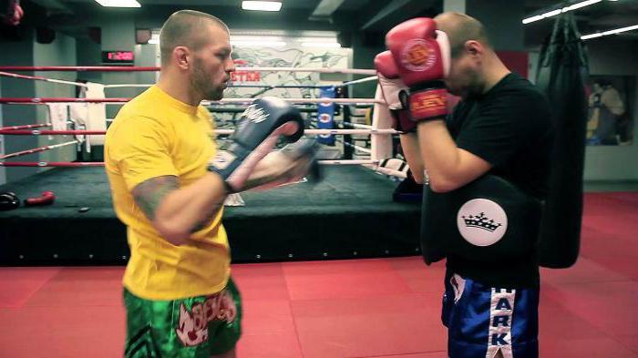 Andrey Basynin bojuje