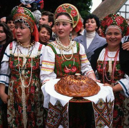 Руска национална култура
