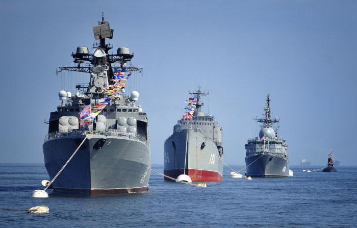 Lodě ruské flotily