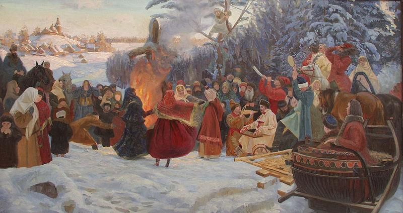 Maslenitsa u Rusiji