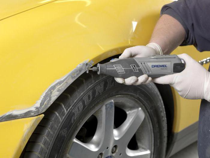 удаление ржавчины фосфорной кислоты с кузова автомобиля