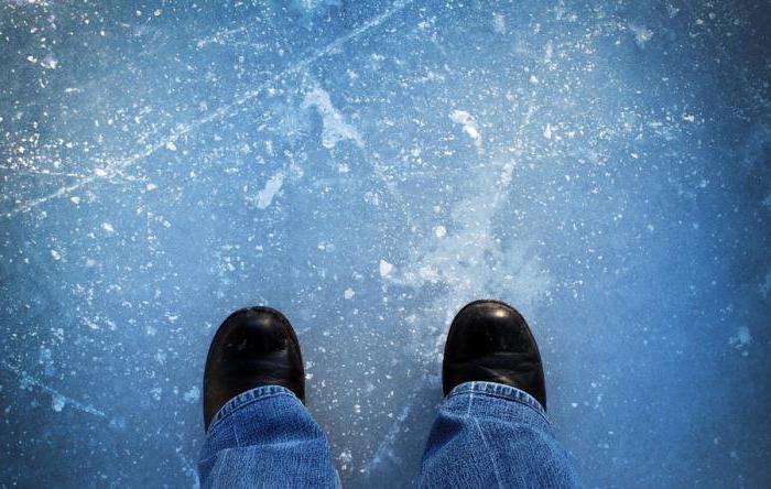 sicurezza sul ghiaccio