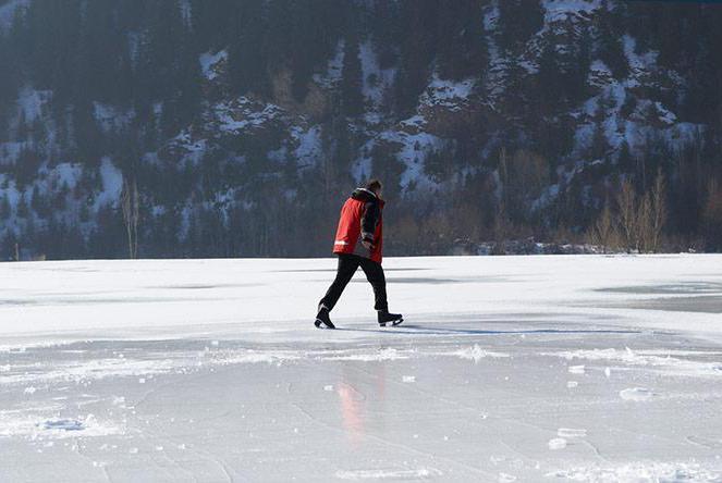 misure di sicurezza sul ghiaccio