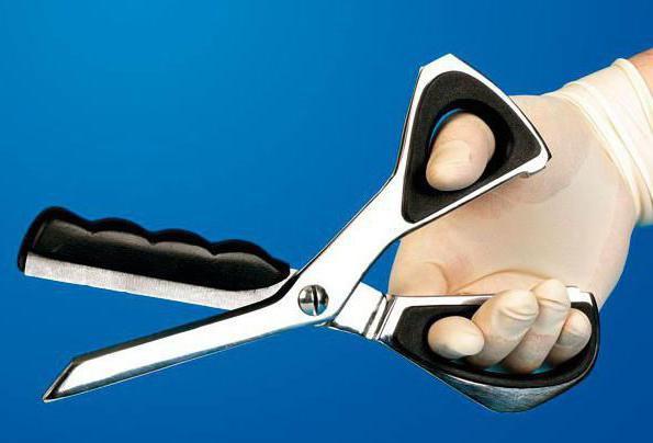bezpečnostní zařízení při práci s nůžkami