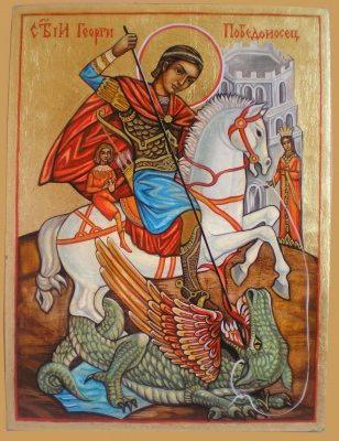 icon Slika George the Victorious