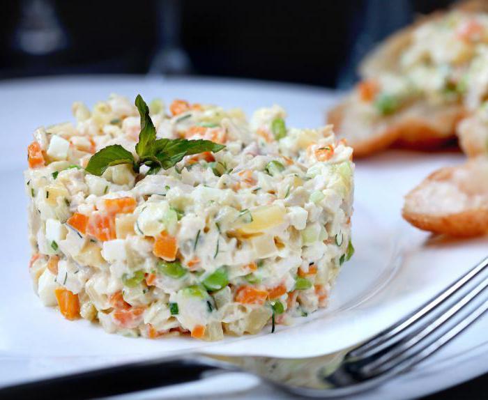 Ruska salata u inozemstvu