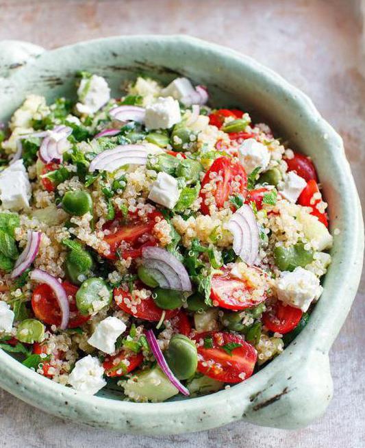 Tablica recept za salatu