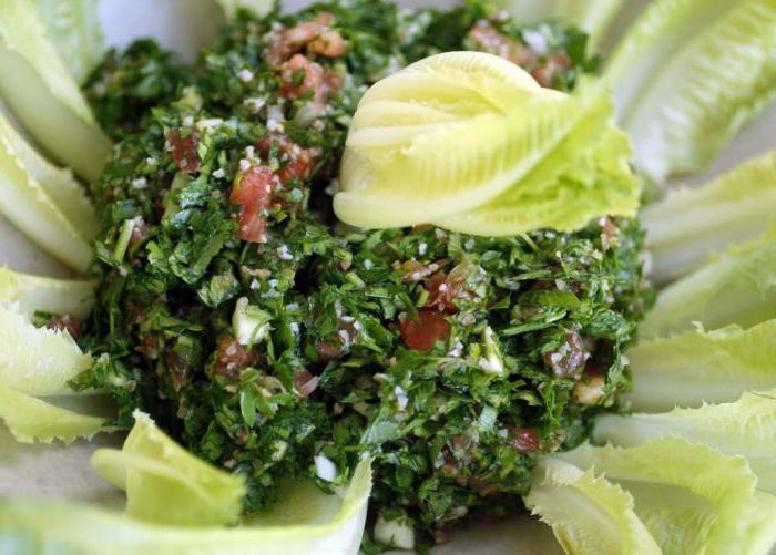 klasična salata od tabula