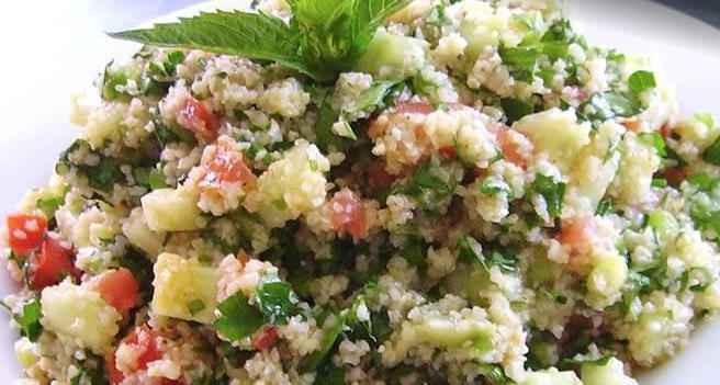 Tabulatna salata s kuskusom