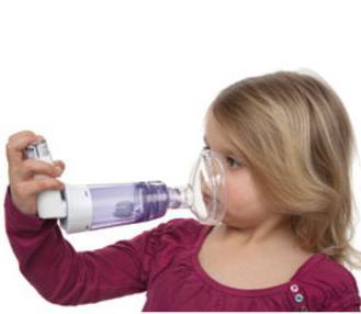 inhalace solného roztoku pro léčbu dětí